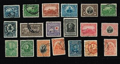 Haiti Stamp Mint And Used Stamps Collection Lot #2