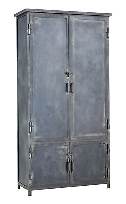 Mid 20Th Century Industrial Steel Cabinet