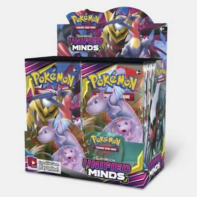 POKEMON SUN & MOON UNIFIED MINDS BOOSTER SEALED BOX ( pre-order)