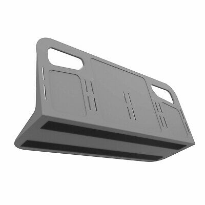 STAYHOLD Grey Car Boot Tidy & Organiser - Large 4-space with Velcro