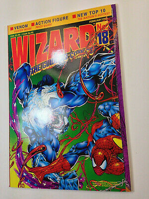 Wizard Comics Guide ( February 1993  ) # 18 - With Spider-man Poster- Unsealed