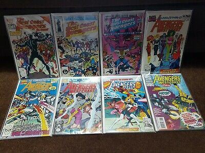 WEST COAST AVENGERS, GIANT-SIZED ANNUAL 1 2 3 4 5 6 7 8 1986-93 full lot  VF+