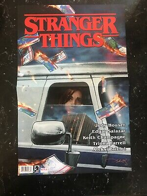 STRANGER THINGS POSTER New Rolled Poster 11x17 San Diego Comic Con Promo 2019