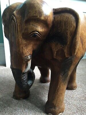 Pleasant Carved Wooden Elephant Stool Side Table Pot Stand 51 00 Onthecornerstone Fun Painted Chair Ideas Images Onthecornerstoneorg