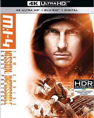 `CRUISE,TOM`-4K Blu-Ray - MISSION:IMPOSSIBLE GHOST PROTOCOL Blu-Ray NEUF