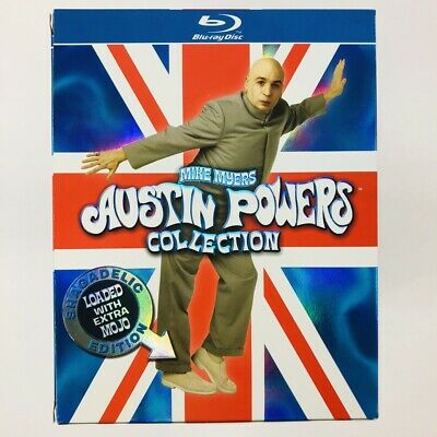 Austin Powers Collection - Shagadelic Edition (Blu-ray, 3-Disc Box Set)