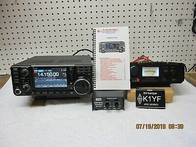 ICOM IC-718 100 Watts HF Amateur Base Transceiver with DSP installed
