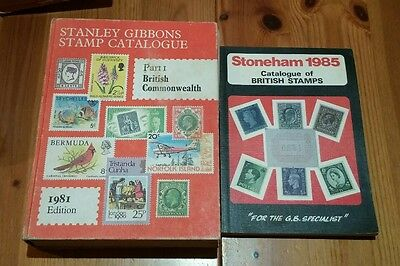 Stanley Gibbons Stamp Catalogue 1981, Part 1 British Commonwealth/Stonehams 1985