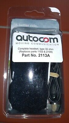 AUTOCOM Complete Headset (Part No. 2113A) - unopened, brand new!