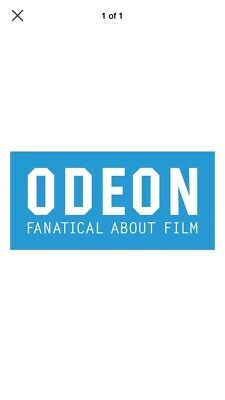 Odeon 2 For 1 cinema code Saturday 20th or Sunday 21st or Monday 22nd July
