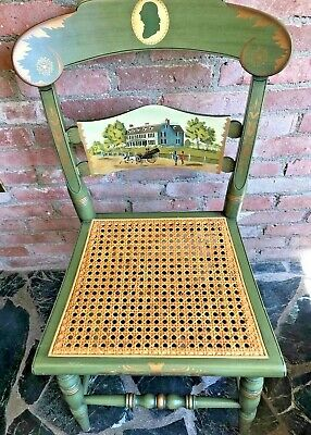 Hitchcock~ SIGNED LMT.EDITION PRESIDENTIAL CHAIR- ADAMS' OLD HOUSE~Exc. Cond.
