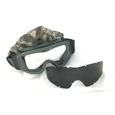 ESS Profile Tactical Ballistic Goggles, Military Eyewear w Clear & Smoke Lenses