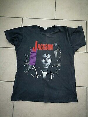 Michael Jackson 1988 Roundhay Park Concert Pepsi Large T Shirt and Ticket Stub