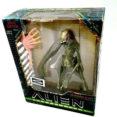 "ALIEN RESURRECTION NEWBORN 1997 Hasbro 7"" Action Figure Movie Edition NiB VTG"
