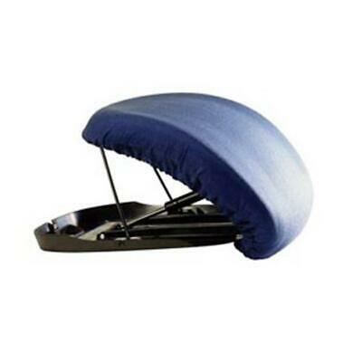 CAREX 6V1Fzx1 1 EA Upeasy Seat Assist Standard Manual Lifting Cushion, Navy Blue
