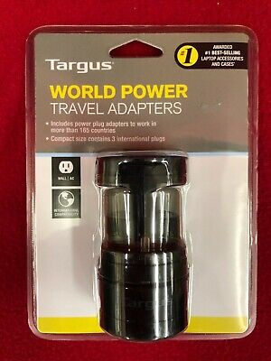 Brand New Targus World Power Travel Adapter - APK01US1 - Free Shipping