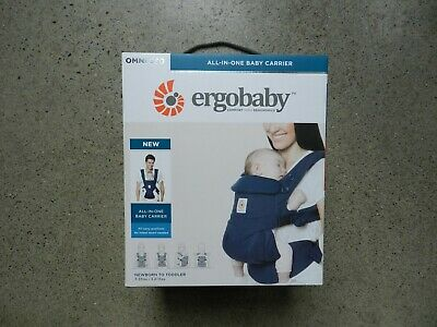 Ergobaby Carrier, Omni 360 All Carry Positions Baby Carrier, Midnight Blue #Z84
