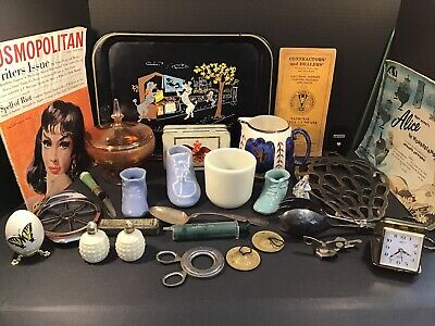 Lot Of 28 Vintage Junk Drawer Collectible Items Mixed Variety LOT