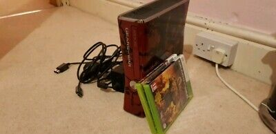 Microsoft Xbox 360 Slim Gears of War 3 Limited Edition console with games!