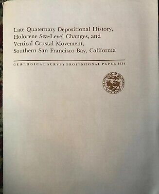 Late Quaternary Depositional History Sea Level Changes Crustal San Fran Map