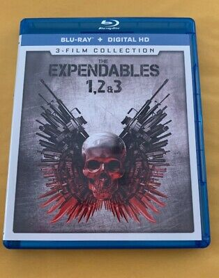 The Expendables 1, 2 & 3: 3-Film Collection [New Blu-ray] 3 Pack Discs All Mint!