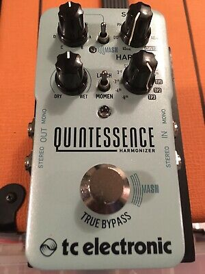 *Mint Barely Used* TC Electronic Quintessence Harmonizer Guitar Effects Pedal!