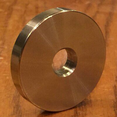 """(2 pc) Extsw 3/8 ID x 1 1/2"""" OD x 1/4"""" Thick 316 Stainless Washer"""