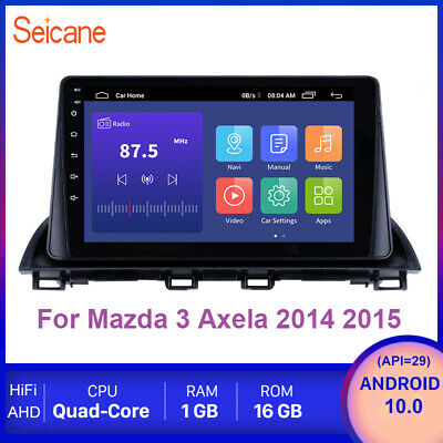 "9"" Android 8.1 For Mazda 3 Axela 2014 2015 Bluetooth GPS Navi Radio Car Stereo"
