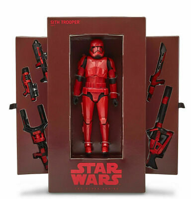 SDCC 2019 HASBRO EXCLUSIVE Star Wars Red Sith Stormtrooper Black Series IN HAND
