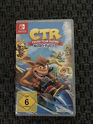 CTR Crash Team Racing Nitro Fueled inkl Bonus-DLC (Switch) (Blitzversand)