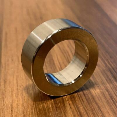 """(2 pc) Extsw 5/8"""" ID x 1"""" OD x 3/8"""" Thick 316 Stainless Spacer"""