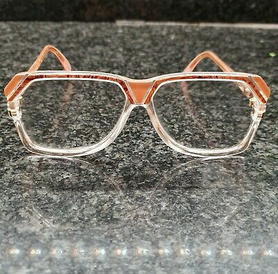 Cazal OG Vintage 186 Col 259 Pink Glasses Eyewear W Germany