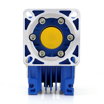 NMRV40 Worm Gearbox Reduction Ratio 5:1 to 100:1 for NEMA34 86 Stepping Motor