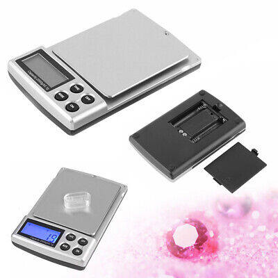 2000g x 0.1g Digital Scale Jewelry Gold Silver Coin Grain Gram Pocket Size Herb