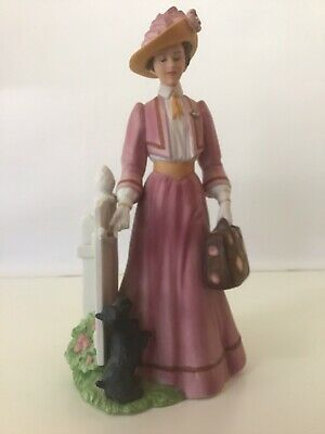 """Collectable """" MRS ALBEE"""" Figurine From AVON 1993 Silver Circle / Mint"""
