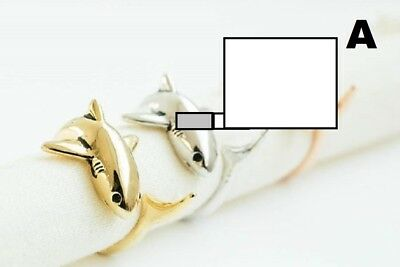 Choice of One Ring  A Shark  B Dolphin Or C  Rabbit