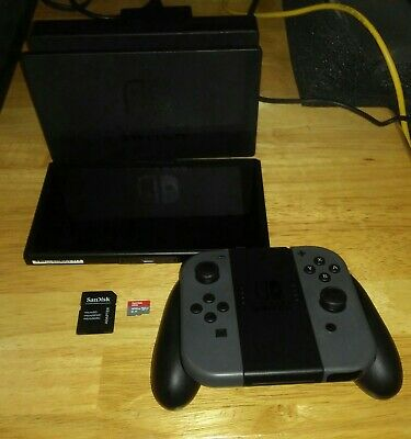 Nintendo Switch 32GB Console + 400GB Memory Card with Adapter