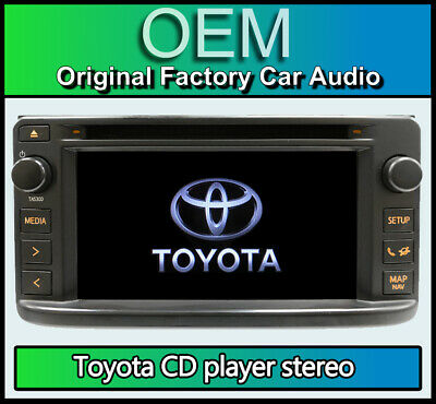 Toyota Yaris CD player touchscreen radio, Toyota PZ473-00213-00 Bluetooth stereo