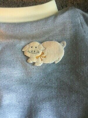 Cabbage Patch Kid ~ Vintage Cpk Pig Sweat/Track Suit & Nappy