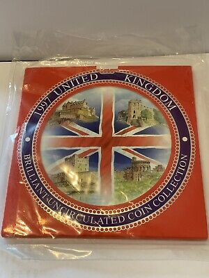 1997 Brilliant Uncirculated Coin Year Set Royal Mint Factory Sealed Unopened £1