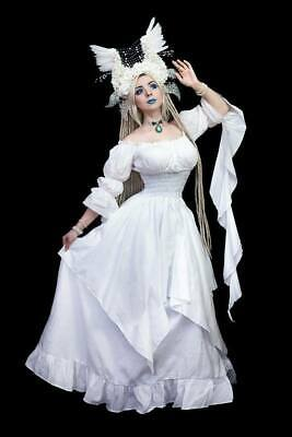 CHIC Boho Medieval Pirate  Peasant Wench Victorian Ball Gown Renaissance Dress