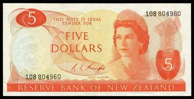 New Zealand - $5 - Knight - 108 804960 - Extremely Fine