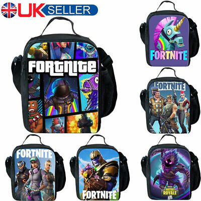 Fortnite Fort Nite Fortnight Game Lunchbox School Bag Boys/ Girls Snack Bag