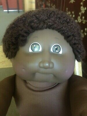 Cabbage Patch Kid ~Black African American Cpk ~  #2 Headmold ~ Displayed Only