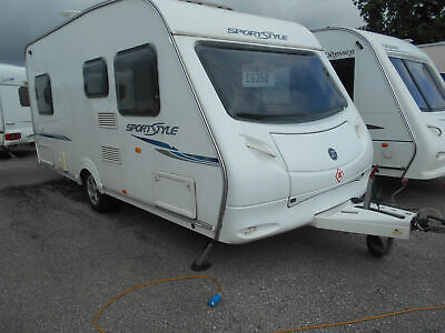 Sprite Sportstyle S4 4 Berth Lightweight Easy Tow Fixed Bed Year 2008