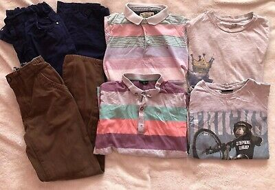 Great Bundle Of Boys Clothes Age 10 Years QUICKSILVER-NEXT-TU