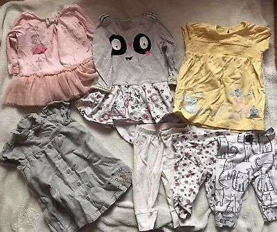 Beautiful Bundle Of Great Baby Girl Clothes 3-6 Months