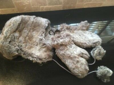 Brand New Next Fur Hat & Mitts SET ONE SIZE