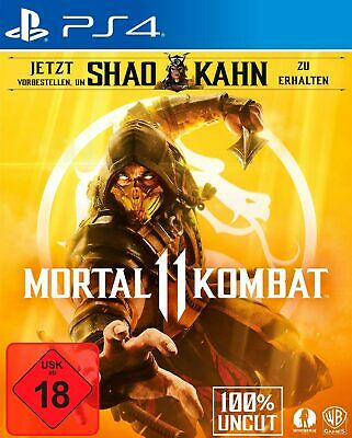 PS4 Mortal Kombat 11 Special Editon Steelbook Gold ohne DLC