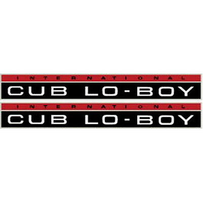 New Cub Lo-Boy International Harvester Farmall Tractor Hood Decal Kit Quality 🎯